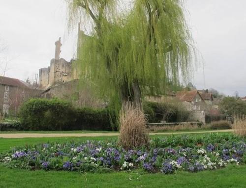 Chauvigny  investit dans le fleurissement et la propreté urbaine