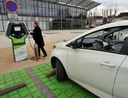 Forez s'équipe de bornes de recharge pour véhicules électriques