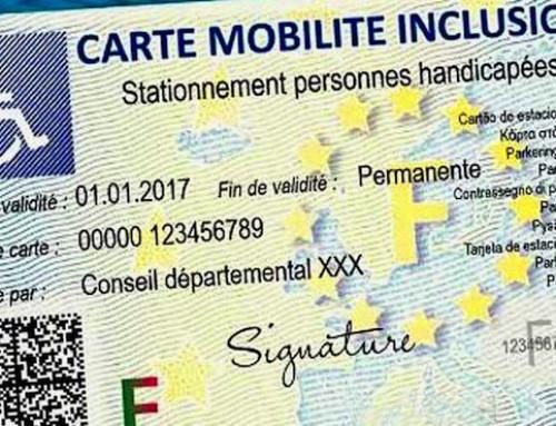 La Carte Mobilité Inclusion enfin mise en circulation