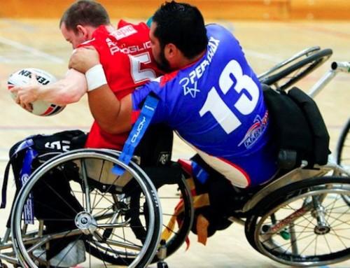 Carcassonne accueille la Coupe du monde de rugby-fauteuil