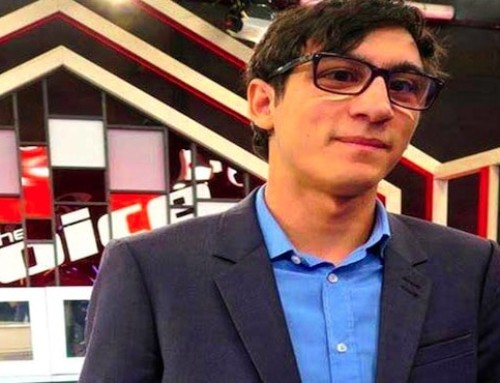 Vincent Vinel : un malvoyant se fait une place à la télévision