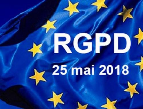 RGPD : Règlement Général sur la Protection des Données