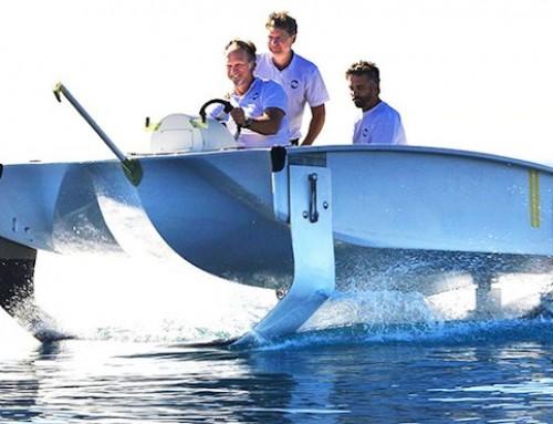 « Sea Bubble » : la « bulle » volante va bientôt être utilisée