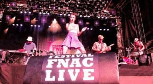 la scène du Festival Fnac Live à Paris