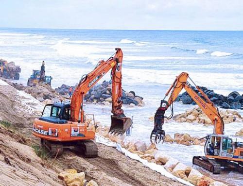 L'érosion des plages : une usure qui coûte cher