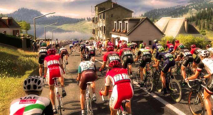 Peloton du Tour-de-France