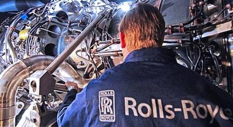 Moteur d'avion Rolls-Royce.