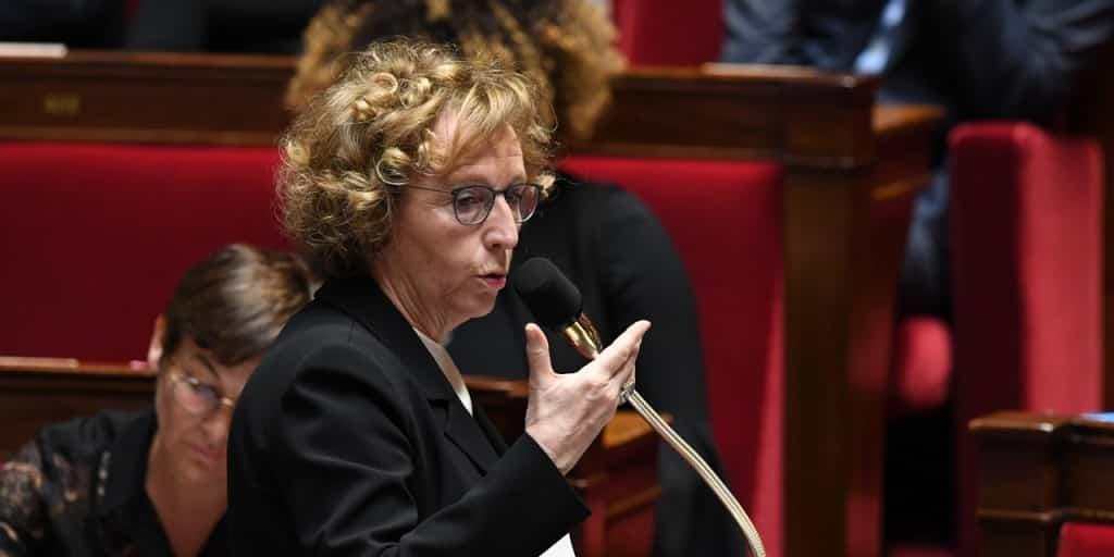 Muriel Pénicaud à l'Assemblée