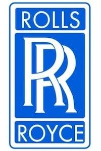 Sigle Rolls-Royce.