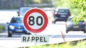 La limitation de vitesse à 80km les nouveaux Panneaux de rappel