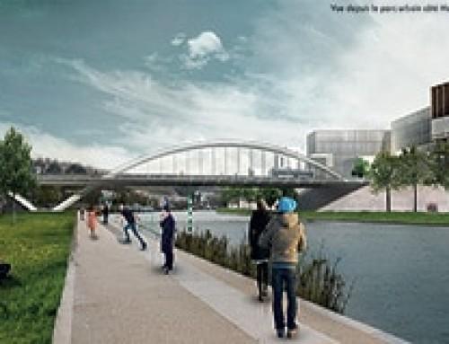 Le pont Siebert un ouvrage flambant neuf pour Boulogne-Billancourt
