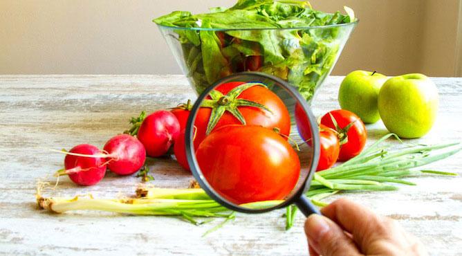 Certains aliments contiennent de faibles quantites de pesticides