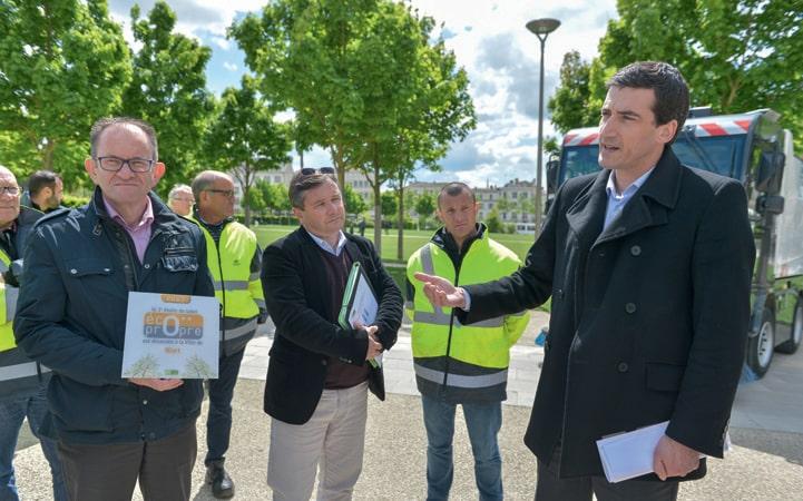Label « éco-propre » pour la ville de Niort