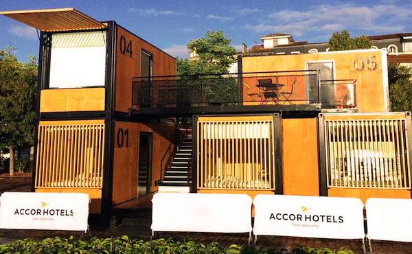 Les hotels ephemeres originaux d'AccorHotels