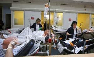 Les services d'urgences sont satures