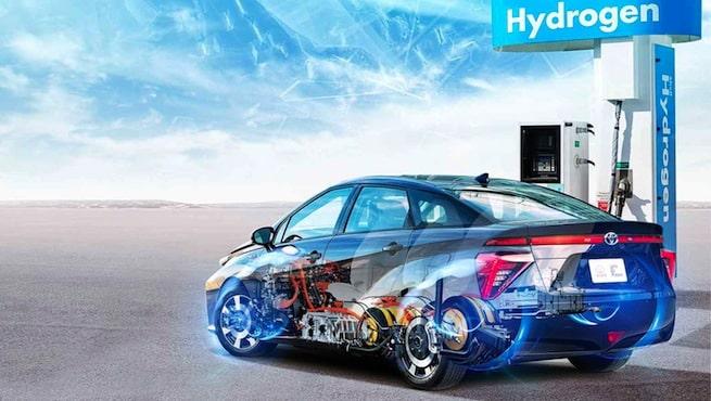 Voiture a hydrogene