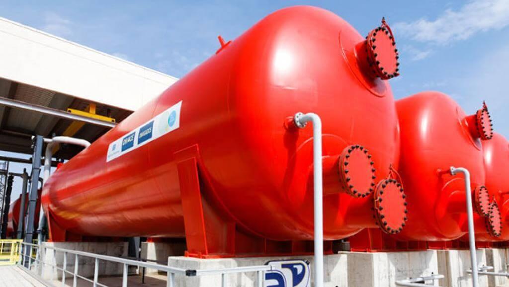 Usine de dessalement de Catalogne, elle produit 200 000 m3 d'eau par jour