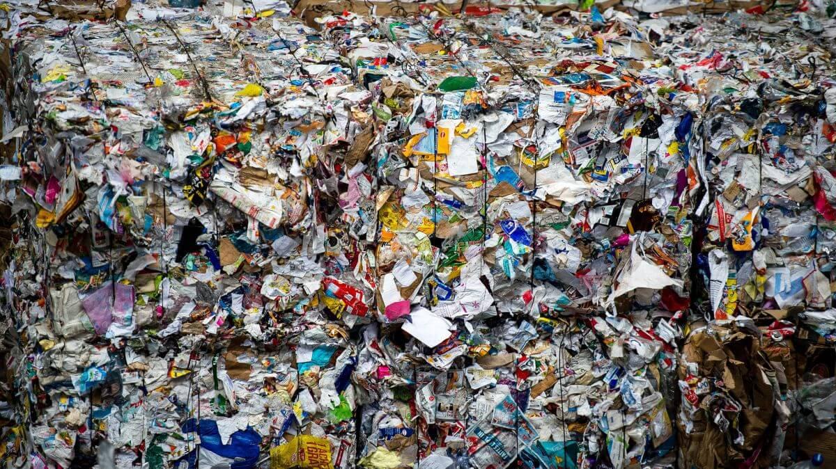des déchets