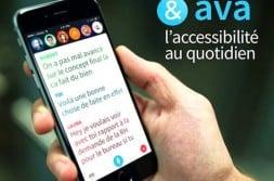 AVA : une application à la disposition des malentendants
