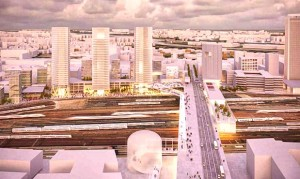 Le quartier Pleyel Confluence