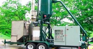 Machine pour transformer des dechets de bois en Biodiesel