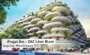 Projet urbain a Issy-les-Moulineaux