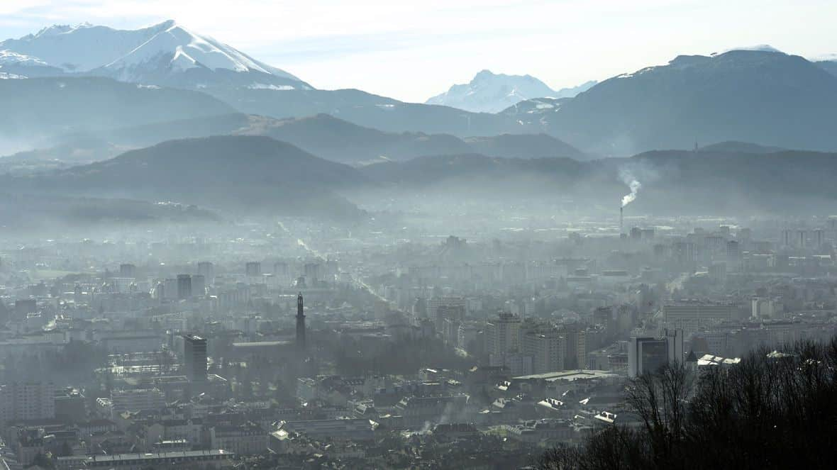 """Résultat de recherche d'images pour """"grenoble polluée"""""""