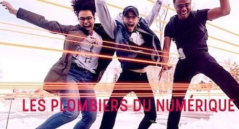 Les Six E Coles Des Plombiers Du Numerique Forment Des Jeunes