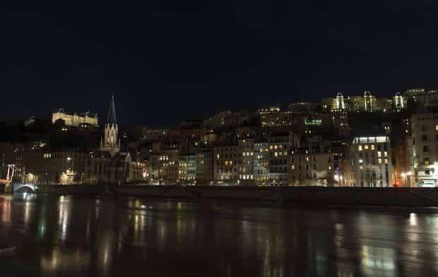 Lyon : plan lumière