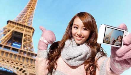 Une Touriste Chinoise