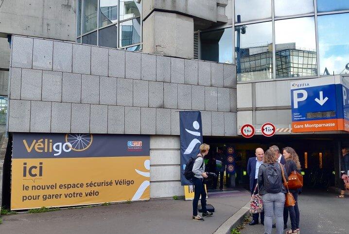 Véligo: un service de parking à vélos sécurisé
