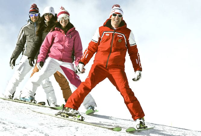 Prix des cours de ski : des tarifs vraiment très variables