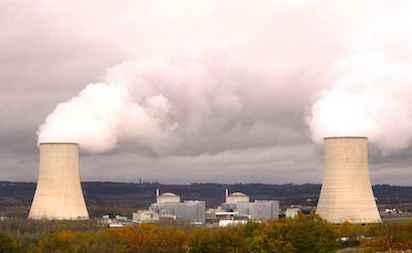 La Centrale Nucleaire De Golfech A 100 Kms De Toulouse