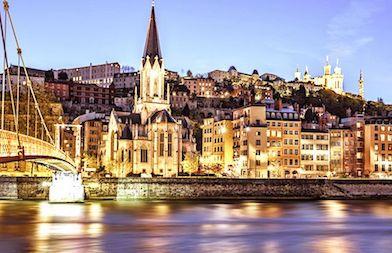Lyon Ville Pilote De La 5g