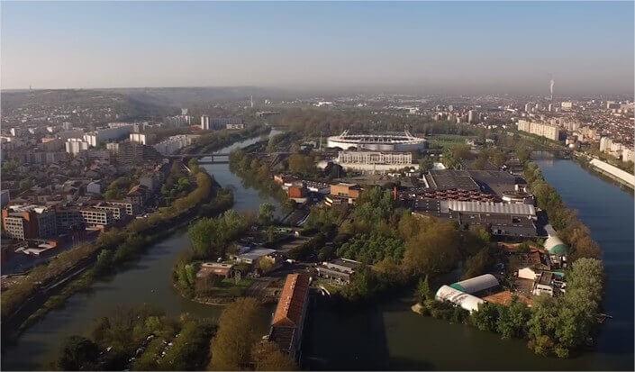 vue dur Toulouse