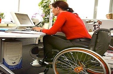 Travaillleuse Handicapee Dans La Fonction Publique