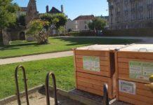 des composteurs collectifs en ville