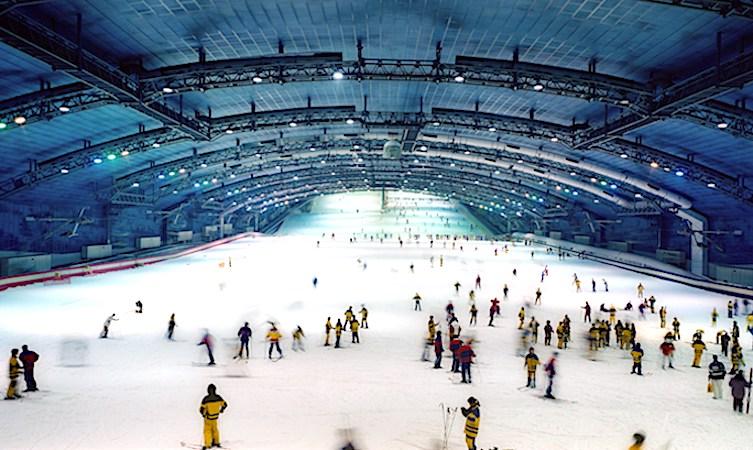 La pratique du ski dans une space couvert est peut-être amenée à se banaliser.