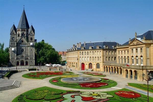 vue sur Metz