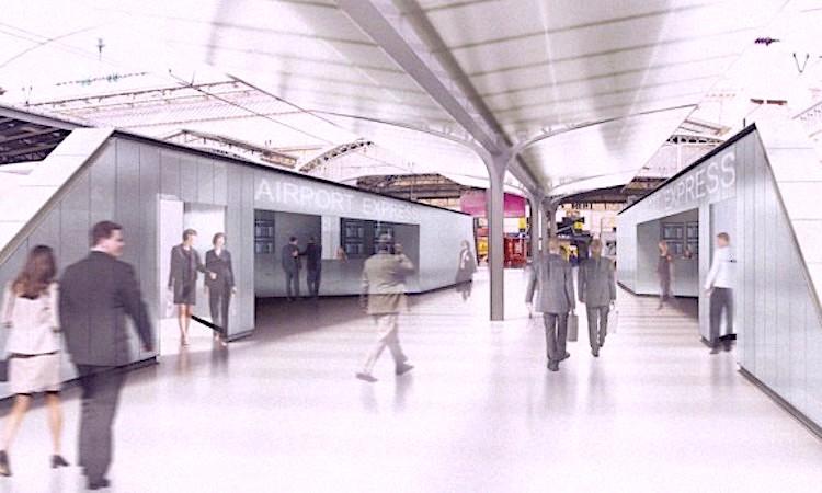 La future ligne rapide entre l'aéroport de Roissy et Paris est contestée par certains.