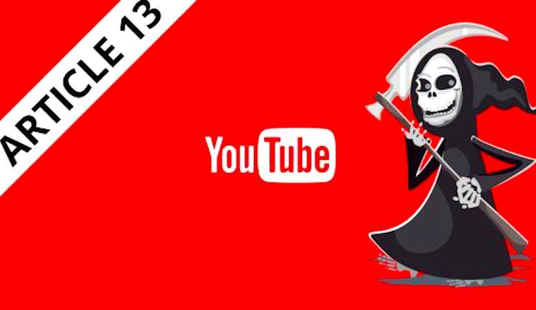 L'approbation de l'article 13 par le Parlement européen pourrait supprimer la plateforme YouTube.