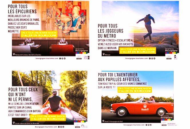 Designed by Bourgogne: la marque utilise aussi les réseaux sociaux