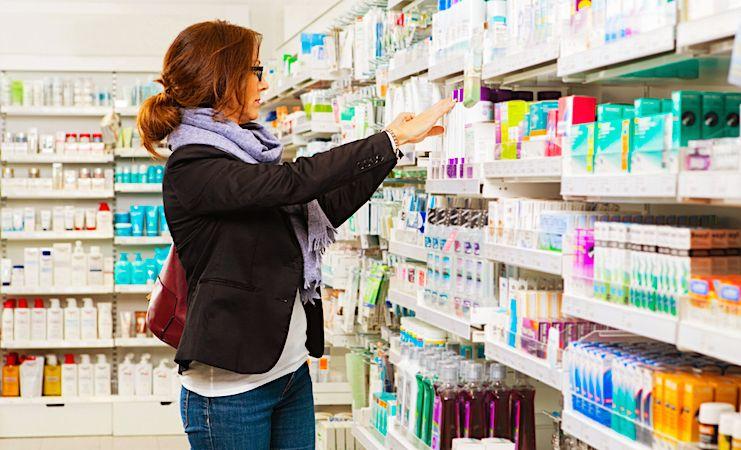 Sur 10 ans, l'augmentation des médicaments sans ordonnance est considérable.