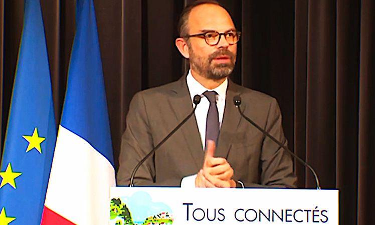 Edouard Philippe vient d'annoncer une aide en faveur d'une cohésion numérique des territoires.