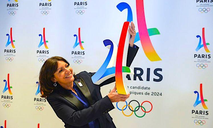 Anne Hidalgo a manifesté sa joie quand la ville de Paris a été choisie pour les JO de 2024.