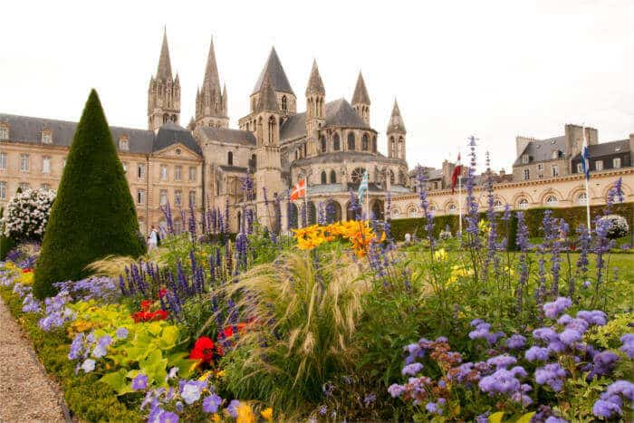 vue sur Caen