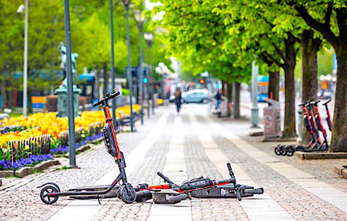L'usage des trottinettes en libre-service doit être réglementé.