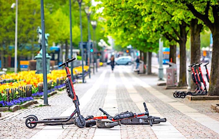 Trottinettes en location libre : une nouvelle circulation à risques