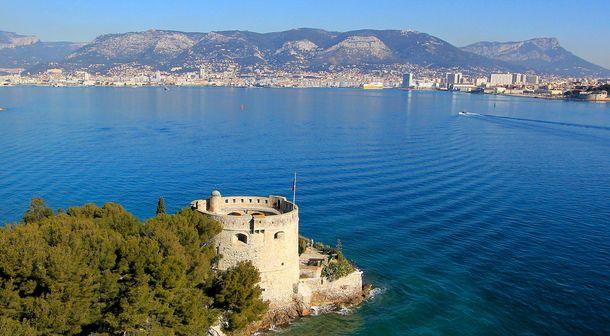 vue sur Toulon