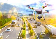 Les drones repèrent aisément les infractions routières.